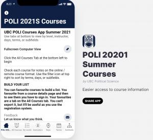 UBC Courses App
